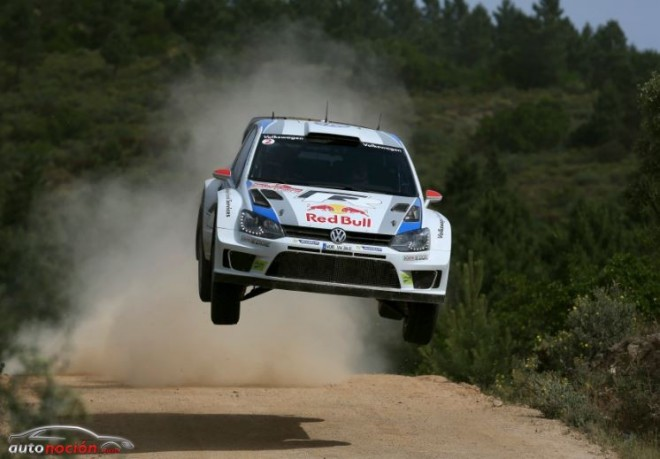 Volkswagen líder en el Campeonato del Mundo de Rallyes por el momento