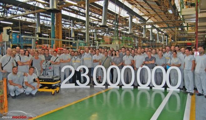 La factoría Renault de Sevilla ha fabricado la caja de velocidades número 23 millones