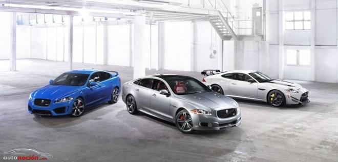 Los nuevos Jaguar XFR-S, XJR y XKR-S GT dubutarán en Goodwood