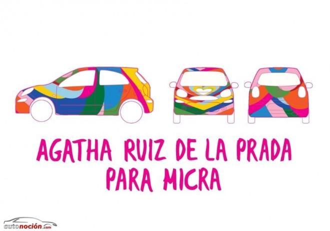 El Micra de Ágatha Ruiz de la Prada ya tiene diseño