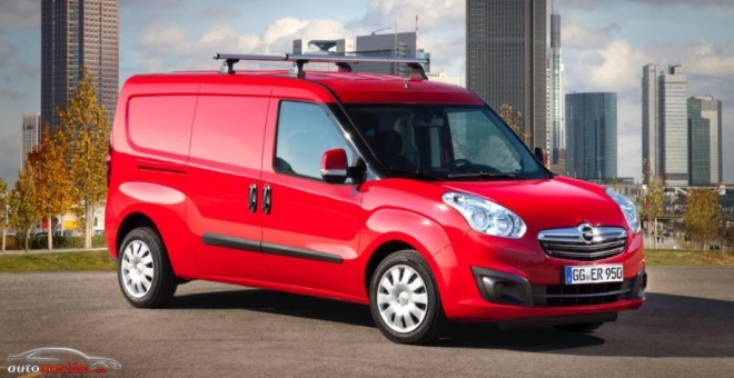 Opel presenta su nueva gama de vehículos comerciales