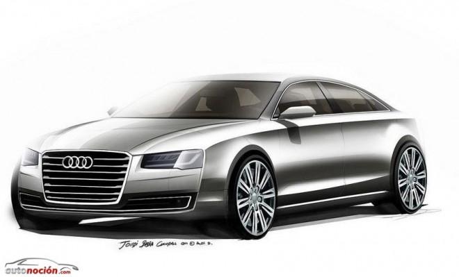 Así será el nuevo Audi A8