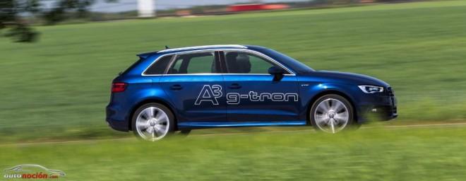 Ni con gasolina ni con diésel: Audi Sportback g-tron