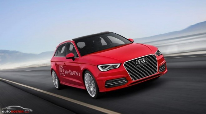 El Audi A3 Sportback e-tron estará disponible en 2014