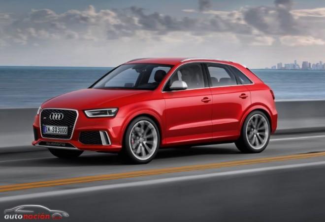 Audi RS Q3: el automóvil más potente fabricado en serie en España