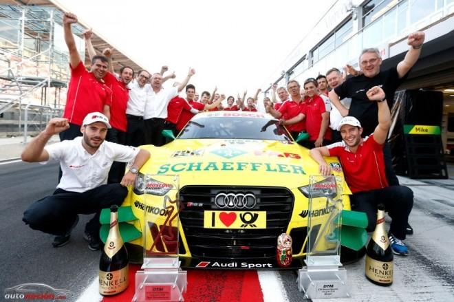 Audi Sport Team Phoenix listo para la próxima cita en Nürburgring