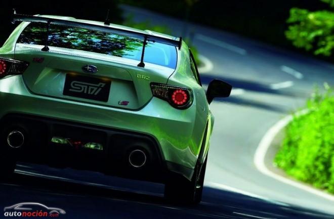 """Subaru BRZ tS """"tuned by STI"""" y tS paquete GT"""