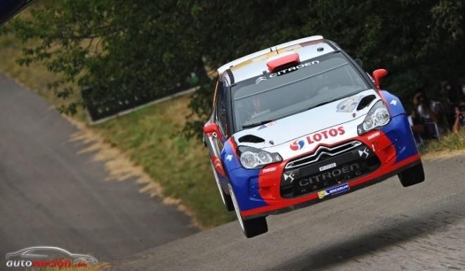 Kubica se coloca líder del WRC2