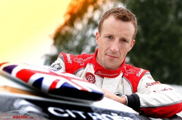 Kris Meeke en el Citroen Total Abu Dhabi World Rally