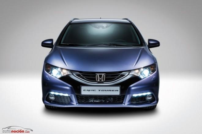 Primeros detalles del nuevo Honda Civic Tourer