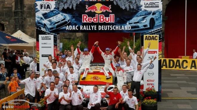 Dani Sordo logra su primera victoria en WRC