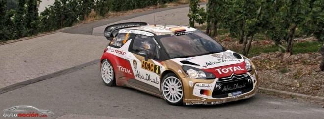 Citroën en la segunda etapa del Rally de Alemania