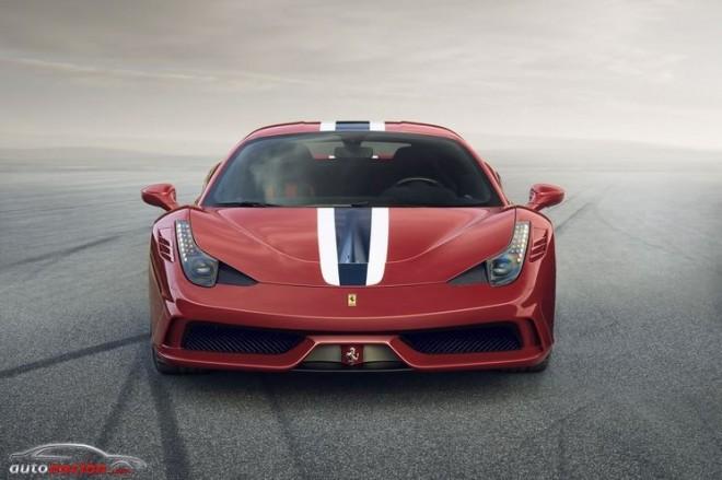 El Ferrari 458 Speciale: 1290 kg de peso y 605 cv de potencia