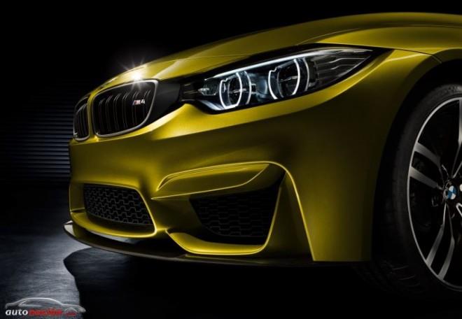 BMW M4 Coupé Concept: Simplemente Brutal