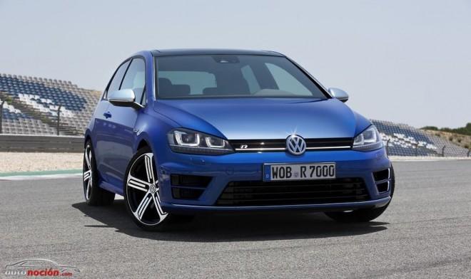 Volkswagen Golf VII R: 300 cv y un 0 a 100 km/h en 4.9 segundos con DSG