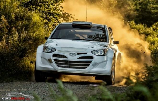 Primeras pruebas en tierra del Hyundai i20 WRC