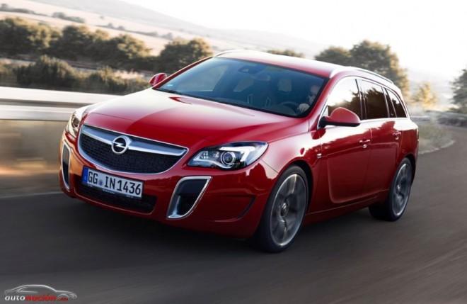 Nuevo Insignia OPC: 325 cv para el familiar más rápido de Opel