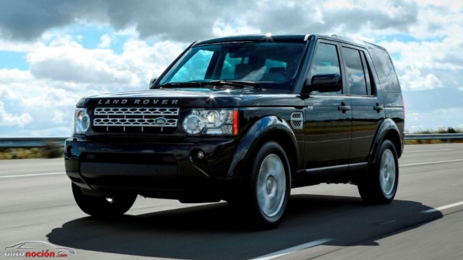 «Black Design Packs» en el Land Rover Discovery 4