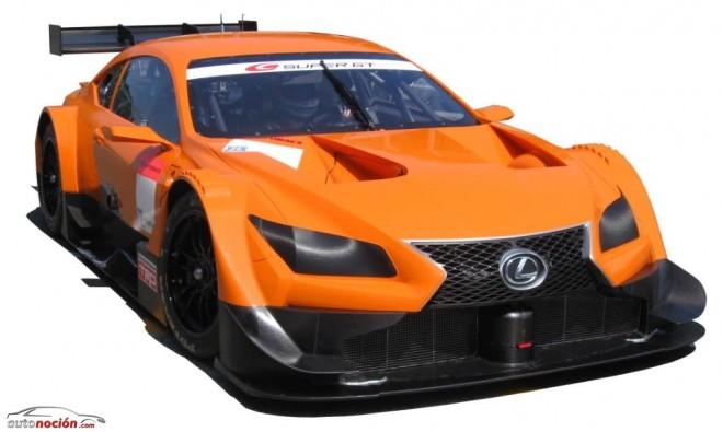 La versión más racing del Lexus LF-CC competirá