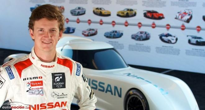 Lucas Ordoñez elegido piloto de pruebas y desarrollo del Nissan ZEOD RC