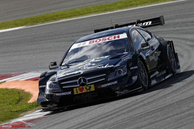 Los dos pilotos españoles de Mercedes-Benz puntuarán de nuevo en Nurburgring