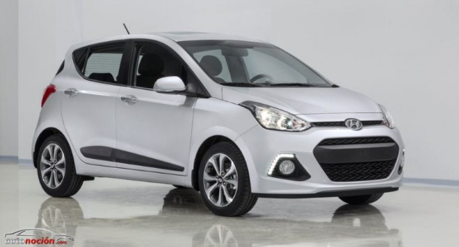 Primeras imágenes del nuevo Hyundai i10