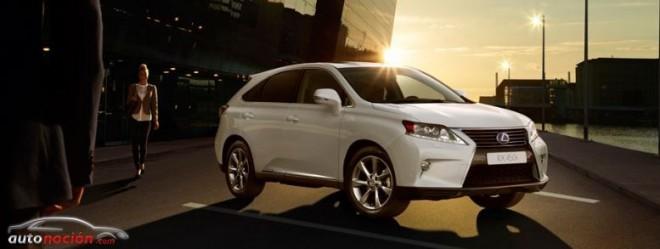 Lexus lanza el RX 450h Aniversario