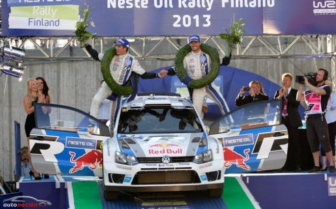 Rally de Finlandia: Ogier camina con paso firme hacia el campeonato