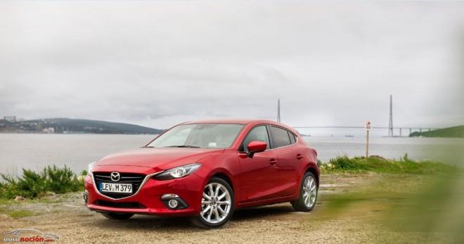 El Mazda3 recorrerá 15.000 km desde Japón hasta el Salón de Frankfurt