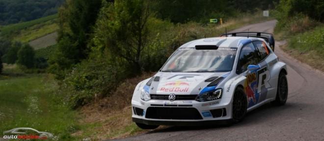Buen inicio para Volkswagen en el rallye de Alemania pero sin Mikkelsen y Markkula