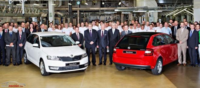 Arranca la producción del Škoda Rapid Spaceback