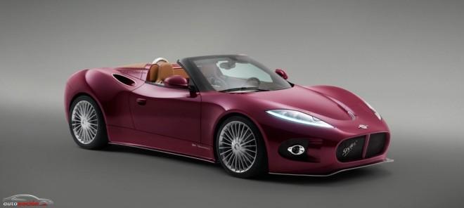 El Spyker Venator Spyder equipará un motor Lotus de origen Toyota