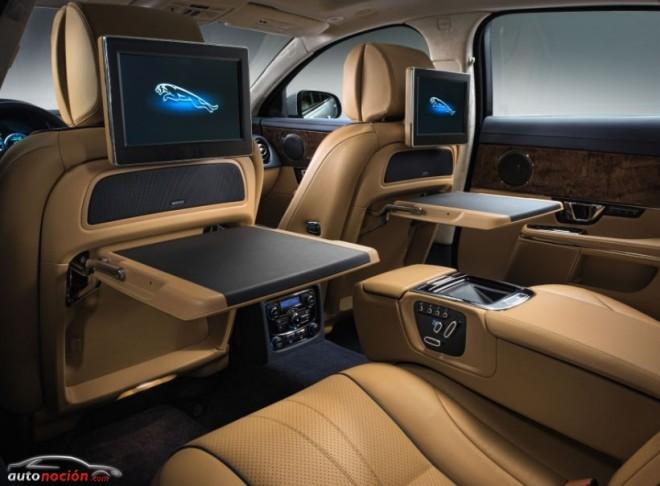 """El Jaguar XJ 2014: Versión """"R"""" con 550 cv y mejoras en los modelos de LWB"""