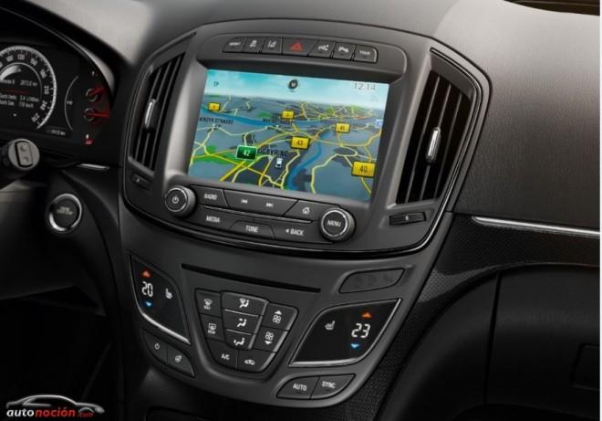 Info-entretenimiento en el Nuevo Opel Insignia