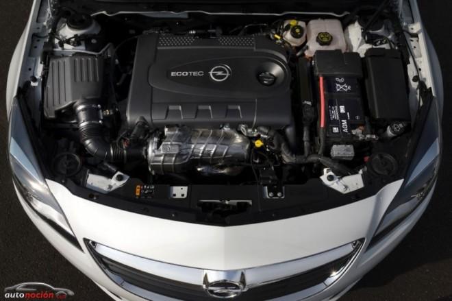 Las nuevas motorizaciones del nuevo Opel Insignia al detalle