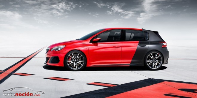 peugeot 308 R lateral