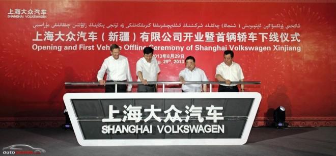 Volkswagen se abre paso en China