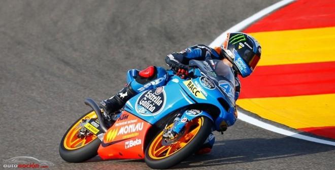 Moto3: Rins gana en Aragón y aprieta el campeonato