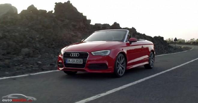 El nuevo Audi A3Cabrio ahora en vídeo