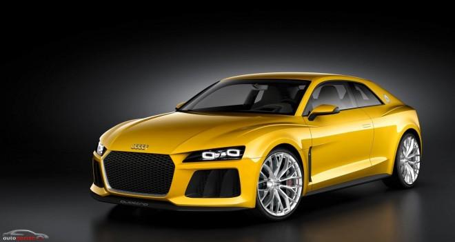 Audi Sport quattro concept: El regalo por el 30 aniversario del Sport quattro