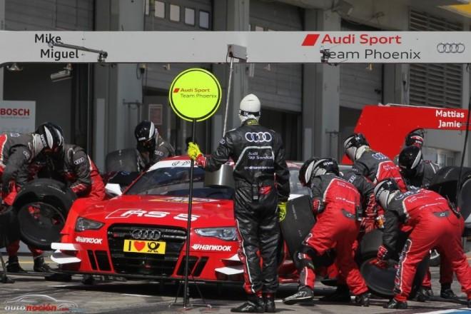 Audi Sport se prepara para el final del DTM