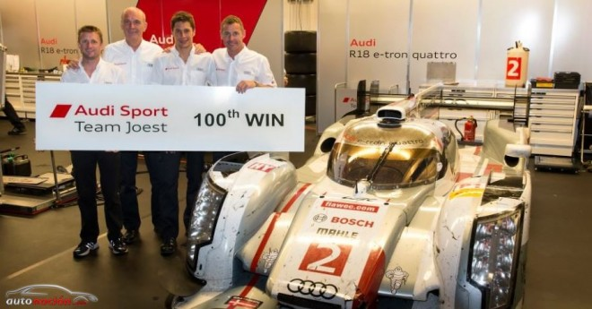 Audi consigue su victoria número 100 en LMP en el Circuito de la Américas