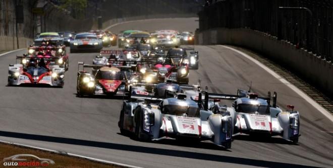 Audi consigue la victoria en Brasil en el Campeonato del Mundo de Resistencia
