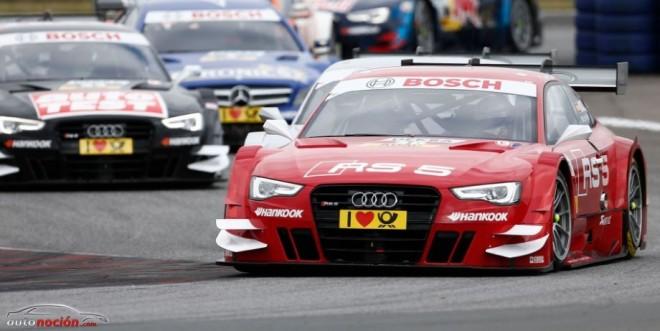 Todo el equipo Audi Sport suma puntos en Oschersleben