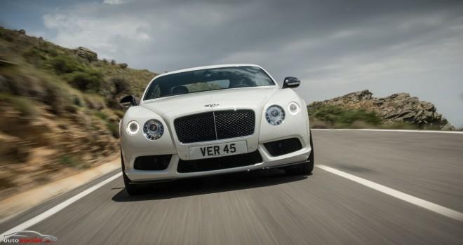 Bentley Continental GT V8 S: Que no te engañe su singular elegancia, bajo el capó tiene 528 cv