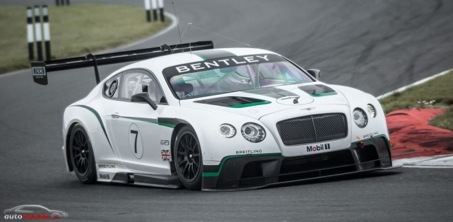 Bentley Continental GT3 listo para pisar la pista