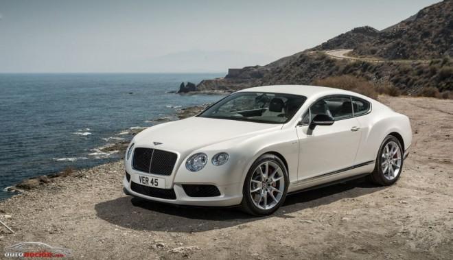 Los impresionantes V8 de Bentley llegan a la Feria de Frankfurt