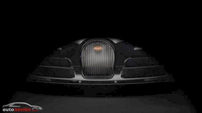 Primer teaser del Bugatti Veyron Vitesse Legend Edition: 1.200 cv muy especiales