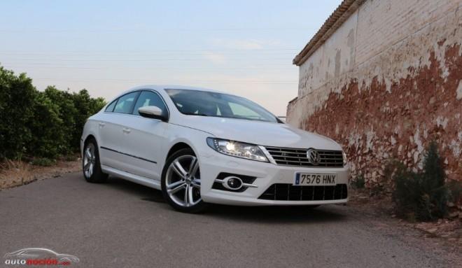 Prueba Volkswagen CC R: Elegancia con un toque radical