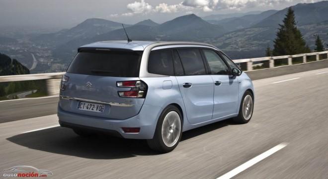 Mete a toda la familia en el Citroën Grand C4 Picasso